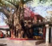 Original temple at Nandipur, West Bengal
